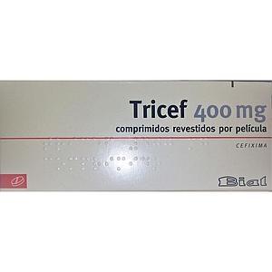 TRICEF (CEFIXIMA)  400MG 8 COMPRIMIDOS