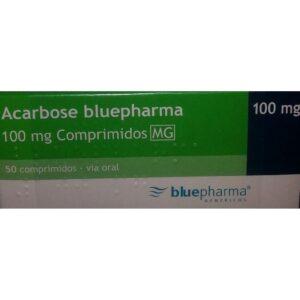 ACARBOSE BLUEFARMA 100MG 50 CP